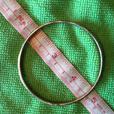 """2-3/4"""" wide Solid Silver Bracelet Stamped 925"""