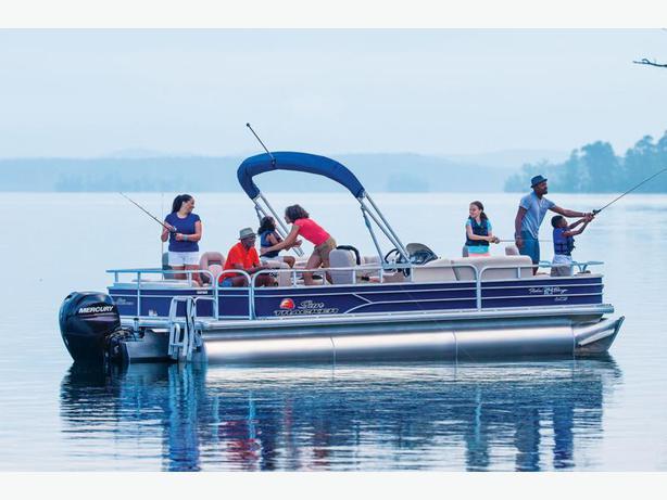 NEW 2016 Sun Tracker Fishin' Barge 24 XP3