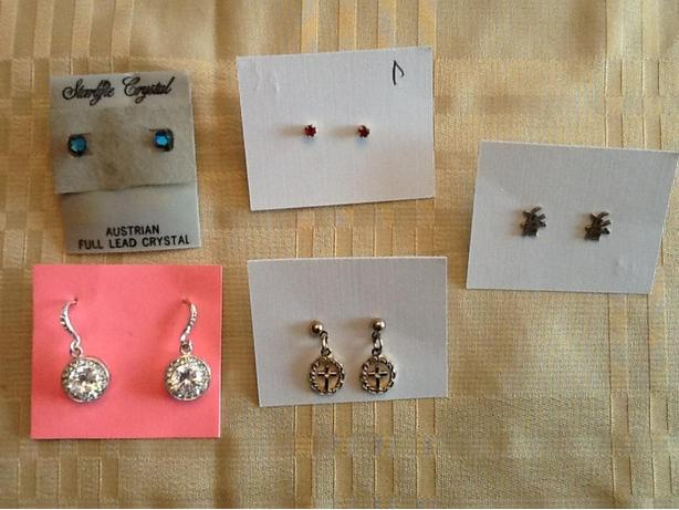 Earrings from $5 to $10