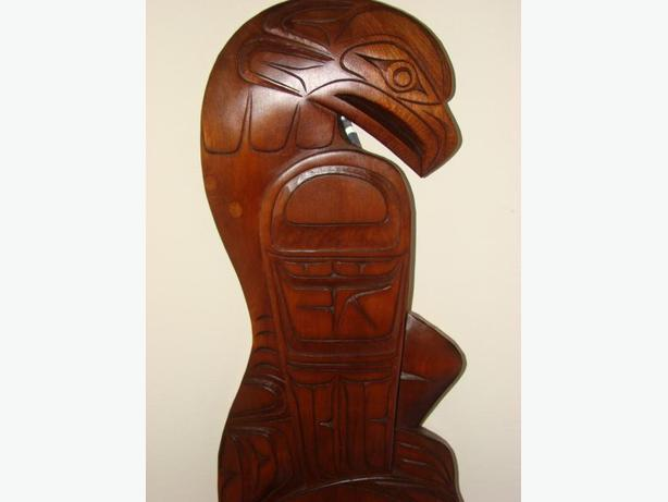 Ted Baker Carving circa 1983