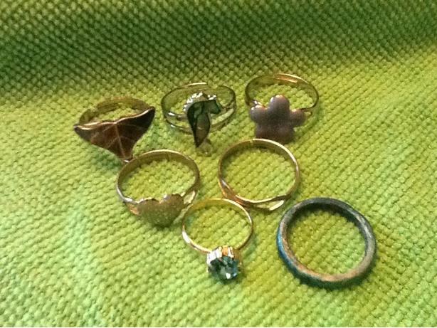 Grab Bag of miscellaneous rings