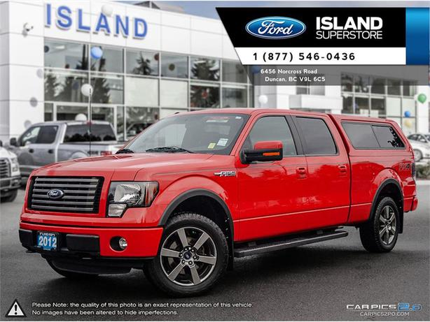 2012 ford f 150 fx4 off crew cab mathcing canopy 4x4 outside victoria victoria. Black Bedroom Furniture Sets. Home Design Ideas