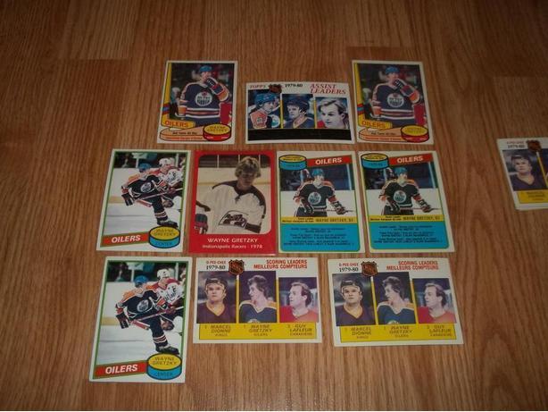 Wayne Gretzky 80-90 singles