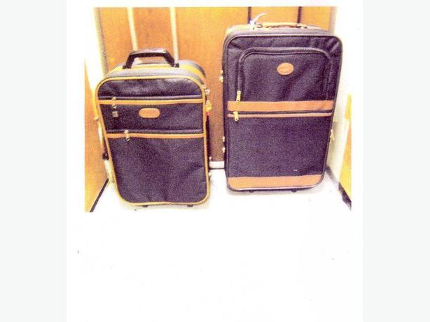 REDUCED - TWO BEAUTIFUL MATCHING SUITCASES NEW