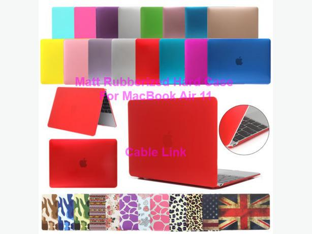 New Matt Rubberized Hard Case Keyboard Skin Cover For MacBook Air 11