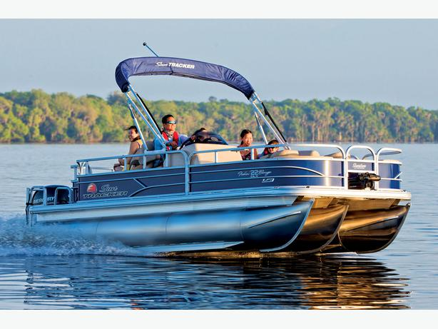 NEW 2016 Sun Tracker Fishin' Barge 22 XP3