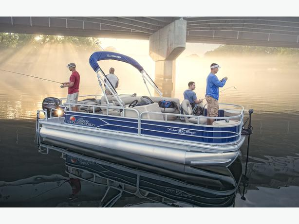 NEW 2016 Sun Tracker Fishin' Barge 22 DLX