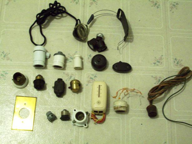 ANTIQUE ELECTRICAL ITEMS