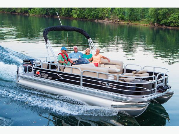 NEW 2016 Sun Tracker Fishin' Barge 20 DLX