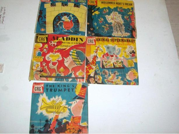 ANTIQUE CHILDREN'S STORYBOOK RECORDS
