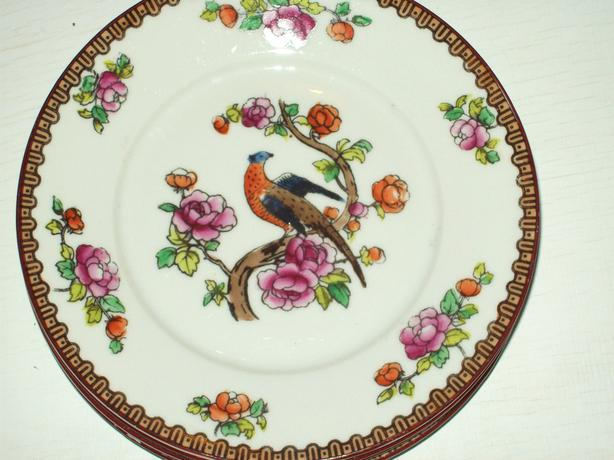 ANTIQUE DESSERT PLATES
