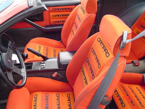 WANTED: Camaro seats