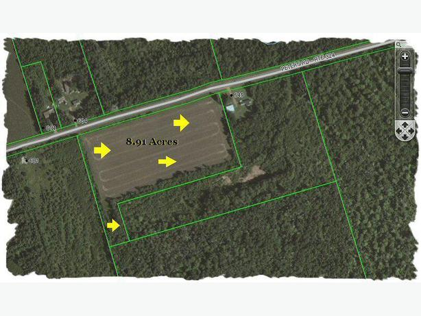 8.91 Acres, PEI (Priced Reduced To $14,900.)