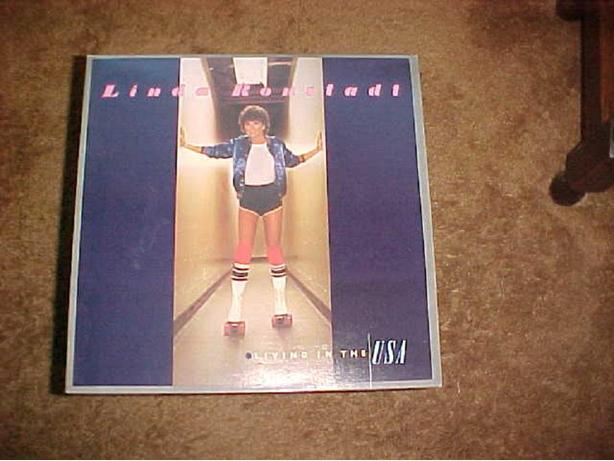 LINDA RONSTADT LIVING IN THE USA VINYL LP