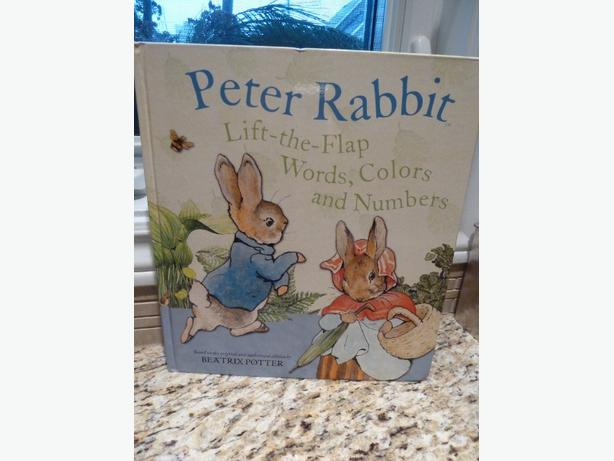 Peter Rabbit Lift-th flap Words, Colors and Numbers