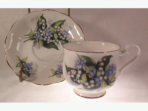 Royal Albert Lily of the Valley teacup and saucer