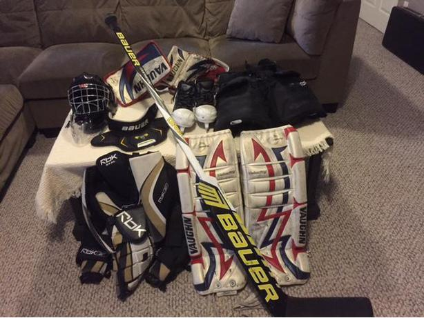 Goalie Equipment - Atom/Pee Wee