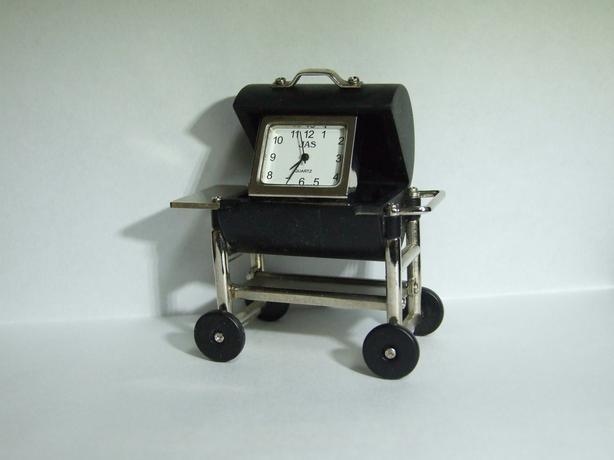 Miniture Clock / watch BBQ