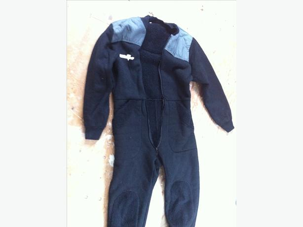 Full body fleece suit