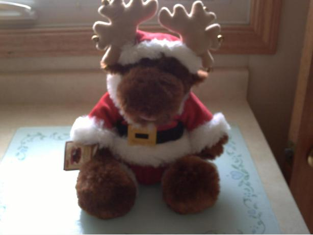 Jingle Bear Rock Christmas Moose