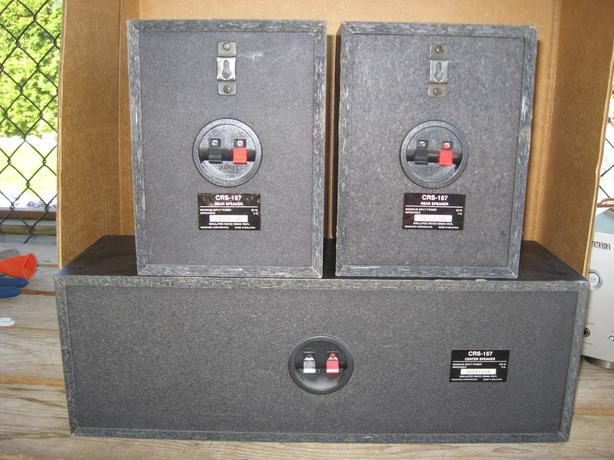 KENWOOD three speakers