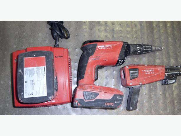 Hilti SD 4500 A-18 Cordless Screw Gun Kit with Screw Magazine