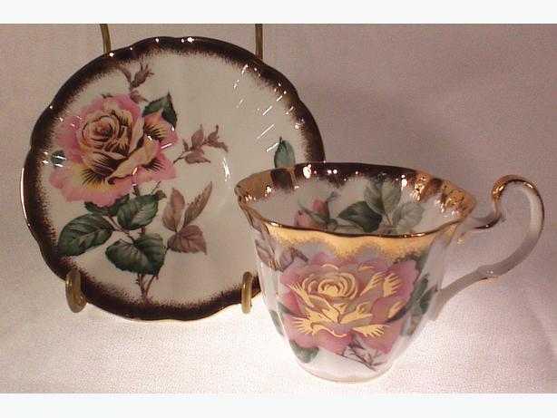 Adderley Peace teacup and saucer