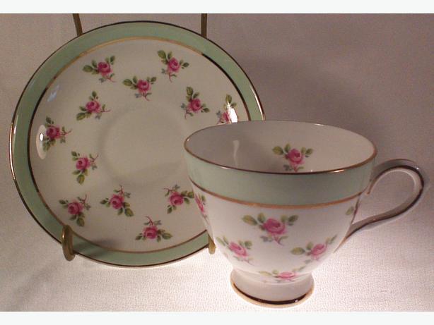 Elizabethan teacup and saucer