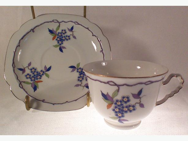 Monarch China teacup & saucer
