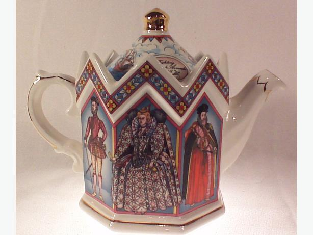 Sadler octagonal teapot Elizabeth I