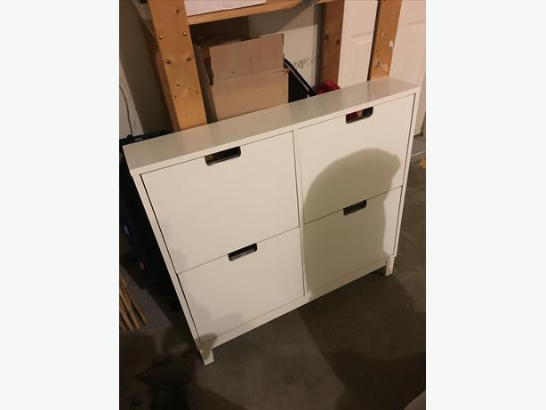 IKEA STÄLL Shoe Cabinet with 4 Compartments Outside Victoria, Victoria