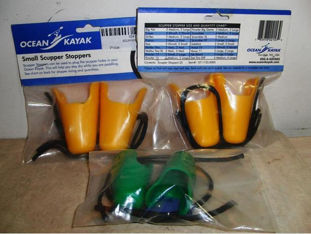 New Kayak Scupper Stoppers