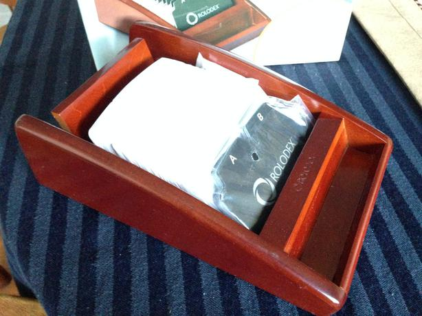 Rolodex Business Card Tray