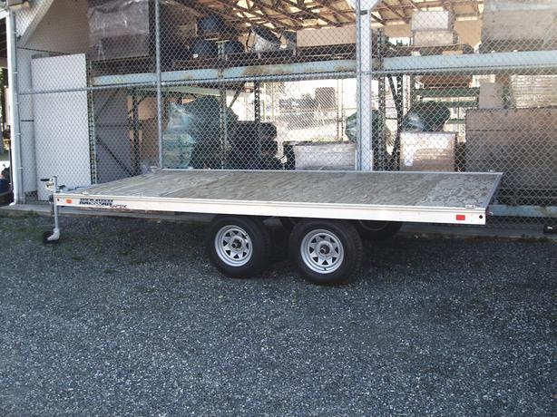 Utv Trailer Axles : Vit utv atv tandem axle trailer outside comox valley