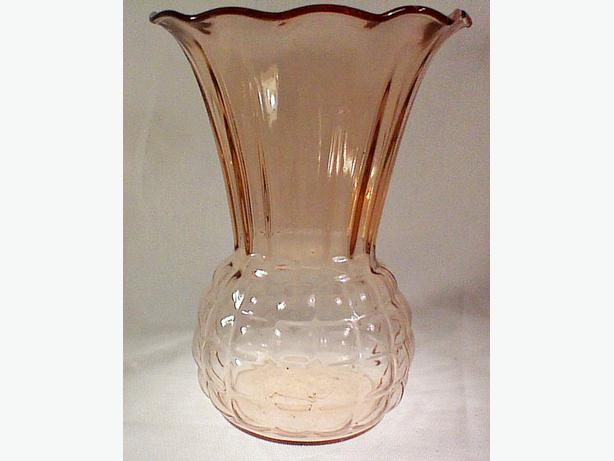 Anchor Hocking Royal Pink vase