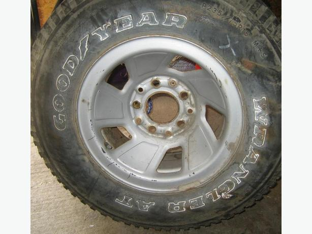 Ford 1/2 ton rally wheel