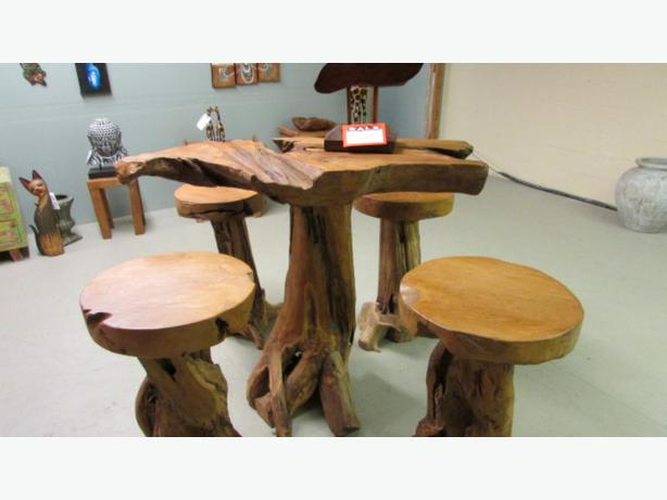 Solid wood Harvest tables  on Sale  with benches  oak and fir