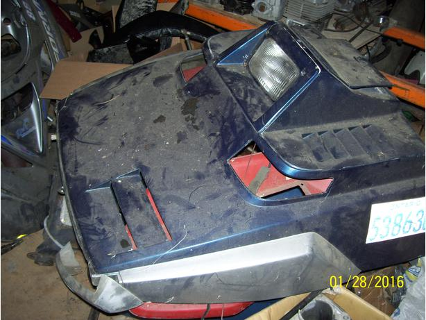 Yamaha ET340 Enticer 340 hood shroud cab