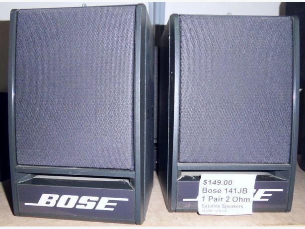 Pair Bose 141-JB Speakers 2 Ohms