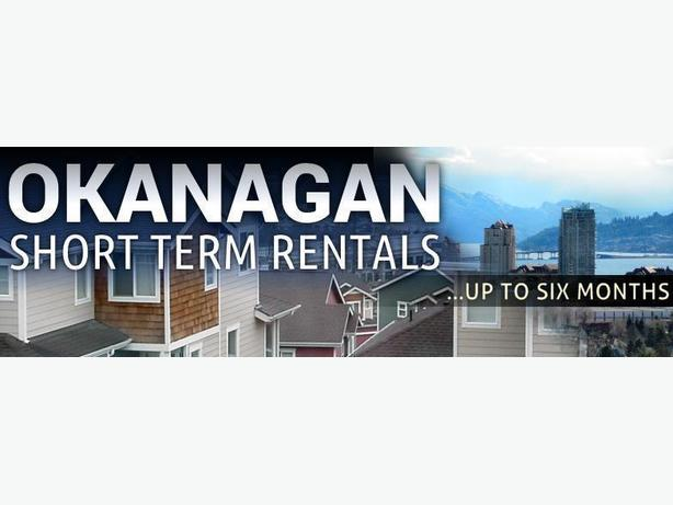 Okanagan Short Term Housing Rentals