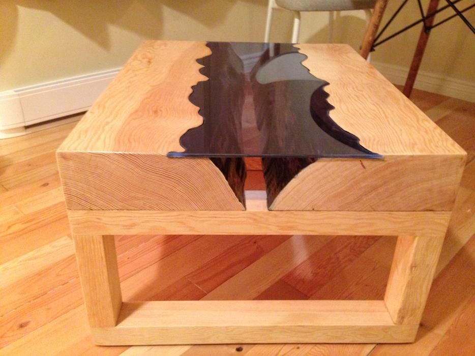 Brand New Live Edge River Coffee Table Esquimalt Amp View Royal Victoria Mobile