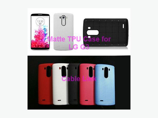 New Soft Mesh TPU Case for LG G3