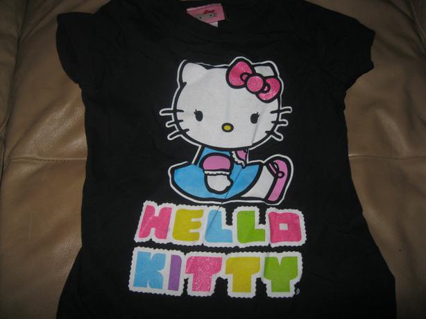 Girls Hello Kitty - short-sleeve top - size 6x
