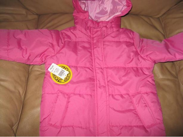 BRAND NEW - Girls WInter Jacket with hood - size 3x
