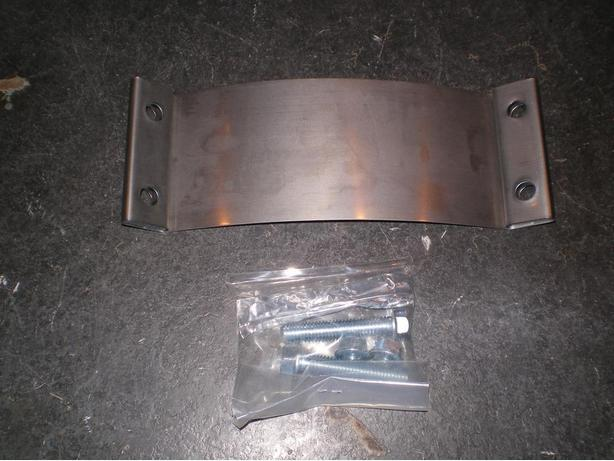 Borla Stainless Steel 2 1/2 inch exhaust band clamp