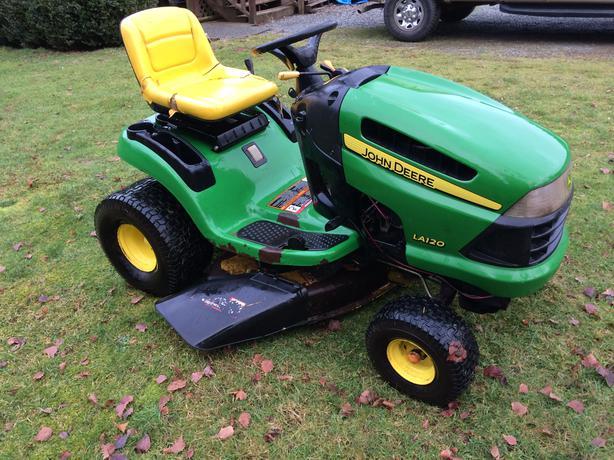 John deere la120 riding mower parts john tractor engine for Lawn tractor motors for sale