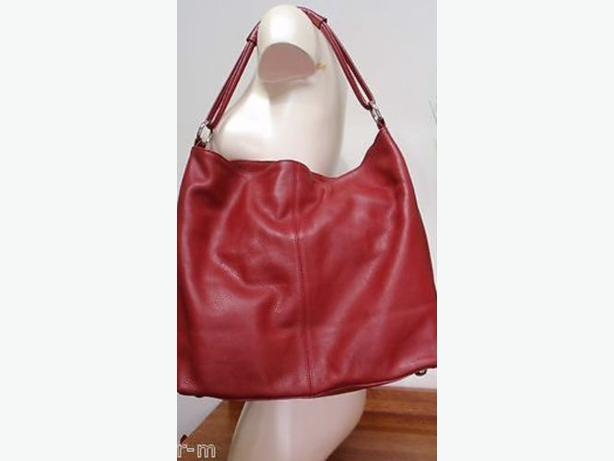 Bag Red Leather Express Design Studio Tote