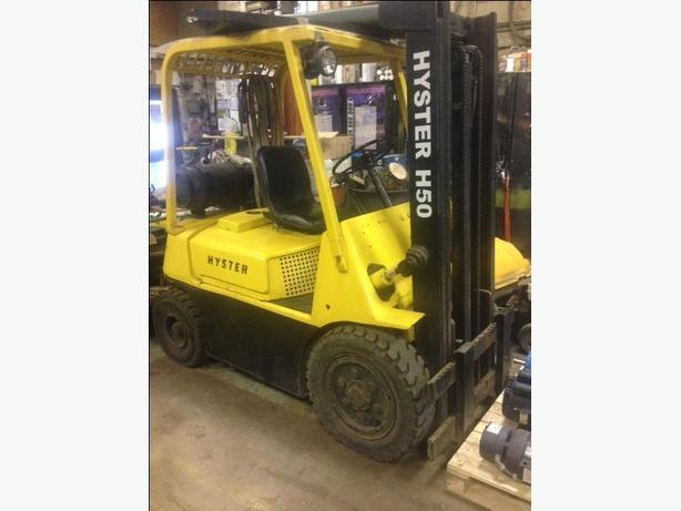 FORK LIFT HYSTER  H50