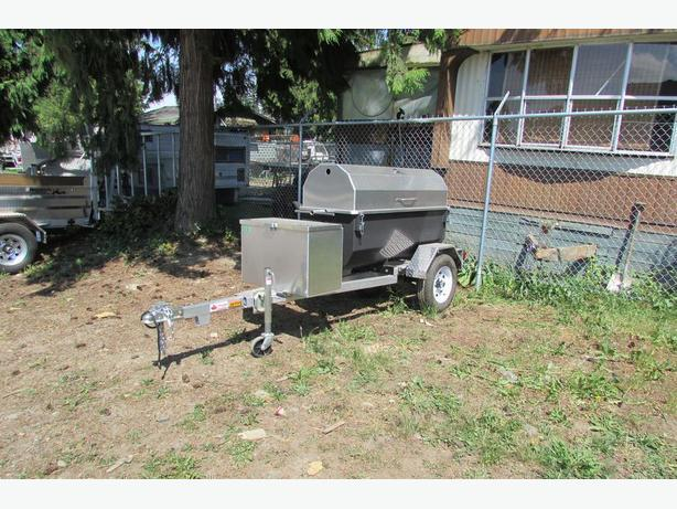 Portable Pig Roaster.