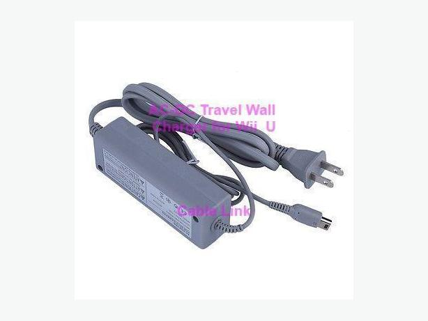 Brand New Wall Charger for Nintendo Wii U